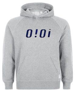 oioi grey hoodie
