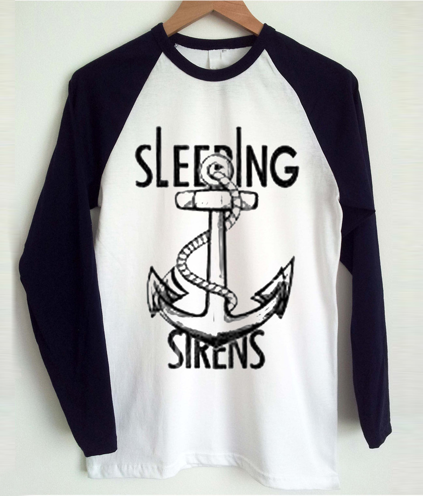 sleeping with sirens baseball T-shirt
