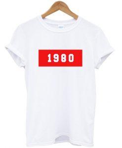 1980 new tshirt