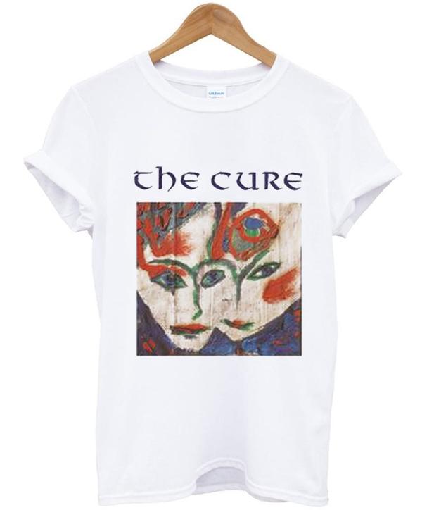 the cure art t shirt