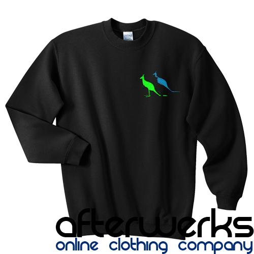 3 kangaroo sweatshirt