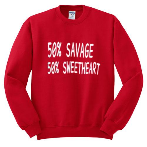 50 Savage 50 Sweetheart Sweatshirt