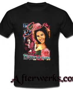 vintage style selena quntanilla the queen of tejana t shirt
