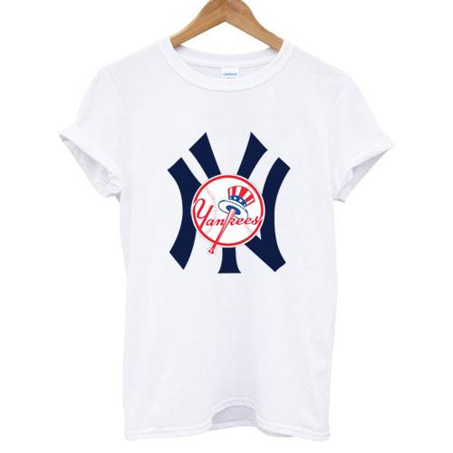 New York Yankees Logo T shirt White