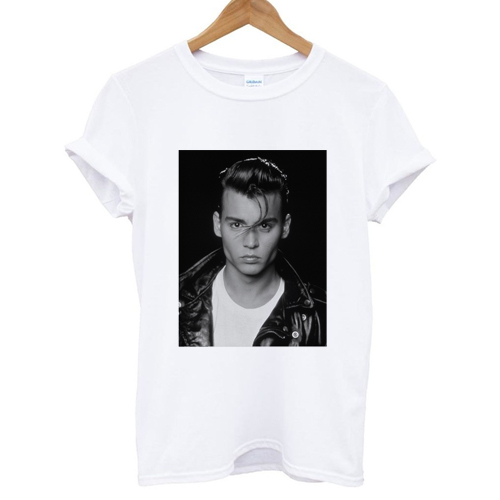 young johnny depp T shirt