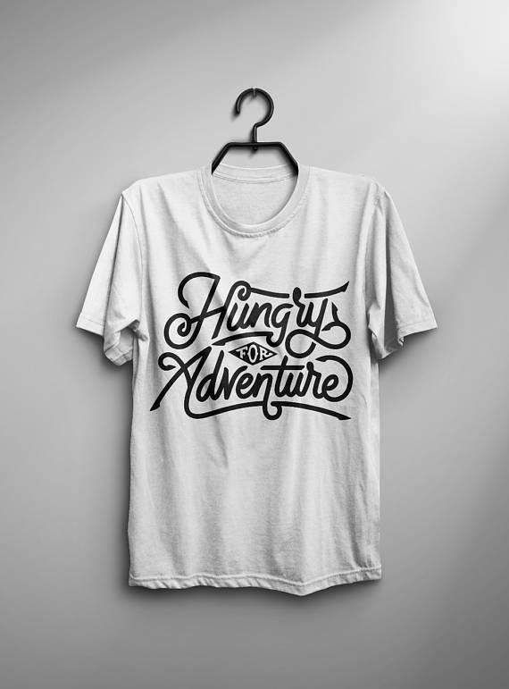 Adventure-Shirt-Men-T-Shirt-White-T-Shirt-Gray-Tshirt-Man-Tee-Men-Clothing-Typography-Shirt-Quote-T-Shirt-Motivational-Quote-Inspirational