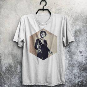 Nina Simone Shirt Men T-Shirt Jazz T Shirt Man Tee Music Tshirt Birthday Gift For Him Men Clothing Jazz Shirt White T Shirt Gray Shirt