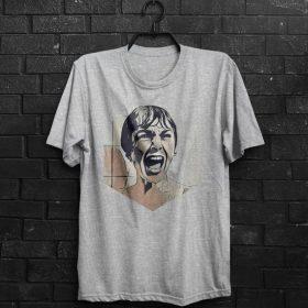 The Psycho Shirt Men T-Shirt Alfred Hitchcock T Shirt Man Tee Horror Movie T-Shirt Birthday Gift For Him Men Clothing T Shirt Cinema T-Shirt