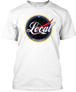 YaLocalWhiteBoy Season 2 t shirt