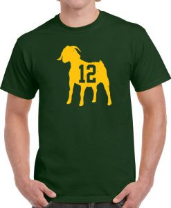 Aaron Rodgers Goat 12 Green Bay T Shirt