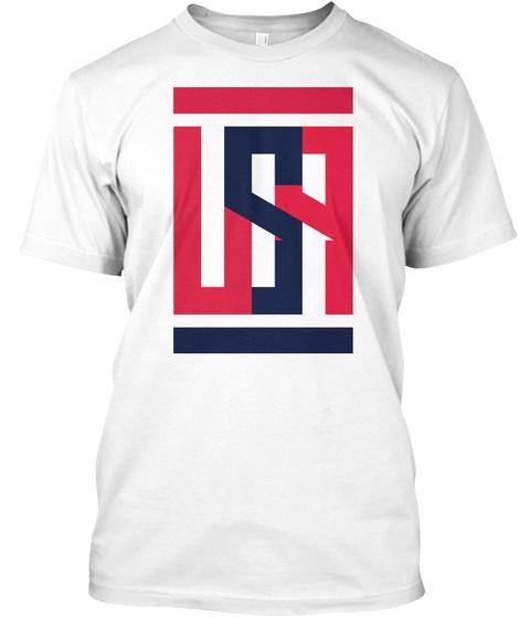 Abstract USA t shirt