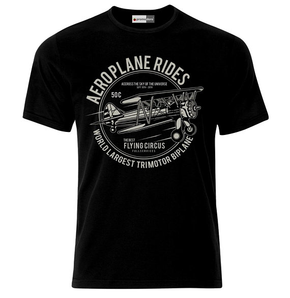 Aeroplane Riders Vintage Aircraft Flugzeug T-Shirt
