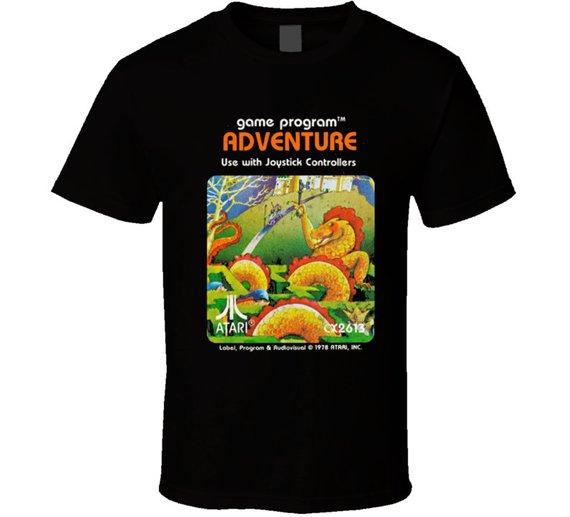 Cool Ready Player One Adventure Video Game Atari Game Cartridge T Shirt
