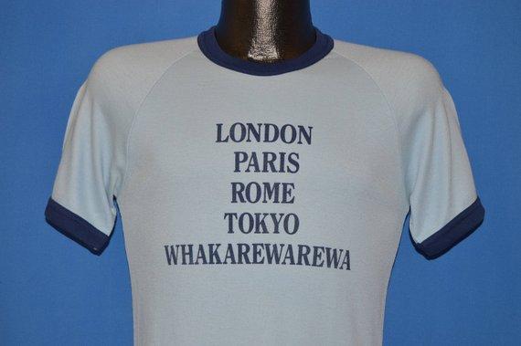 80s Whakaerewarewa New Zealand t-shirt Medium