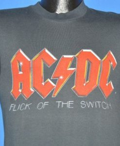 ACDC Flick of the Switch Tour t-shirt