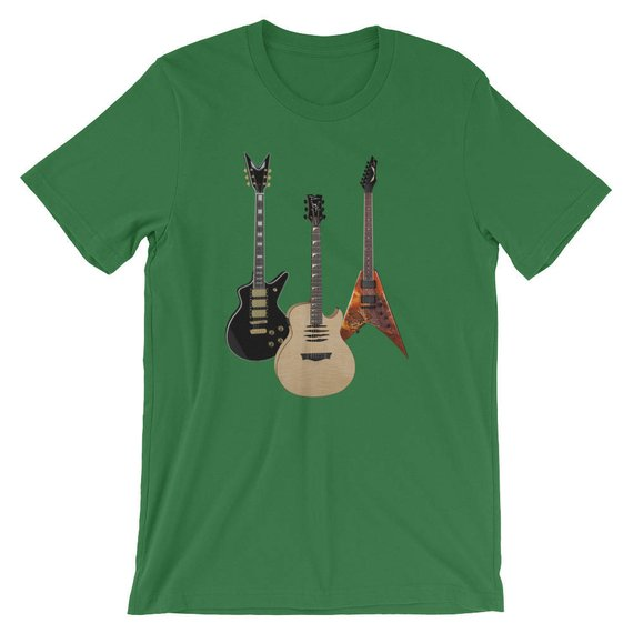Acoustic And Electric Guitars Rock Pride Unisex Shirt