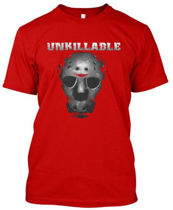 Unkillable Halloween Villain Freddy Michael Jason Horror gift t-shirt