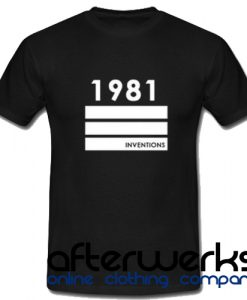 1981 Inventions T shirt