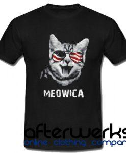 4th of July Meowica Women's T shirt