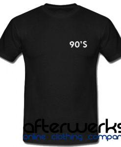 90'S Unisex T shirt