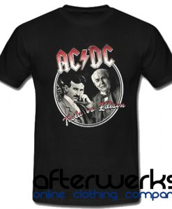 AC DC Tesla Us Edition T shirt