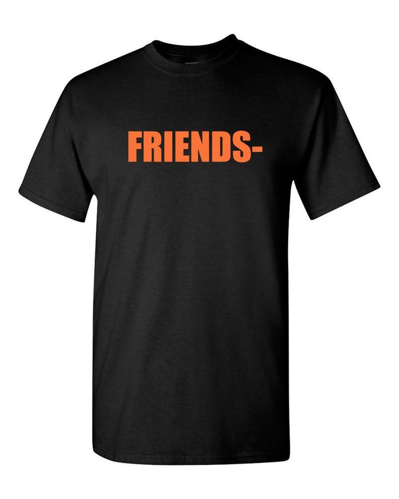Vlone friends t shirt black vlone fragments Asap Rocky t-shirt merch