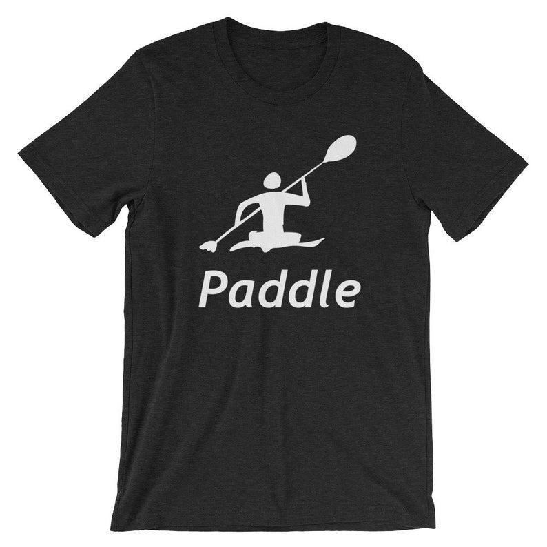 Kayak Kayaking Paddle T Shirt Tshirt Novelty Tee Graphic Short-Sleeve Unisex T-Shirt