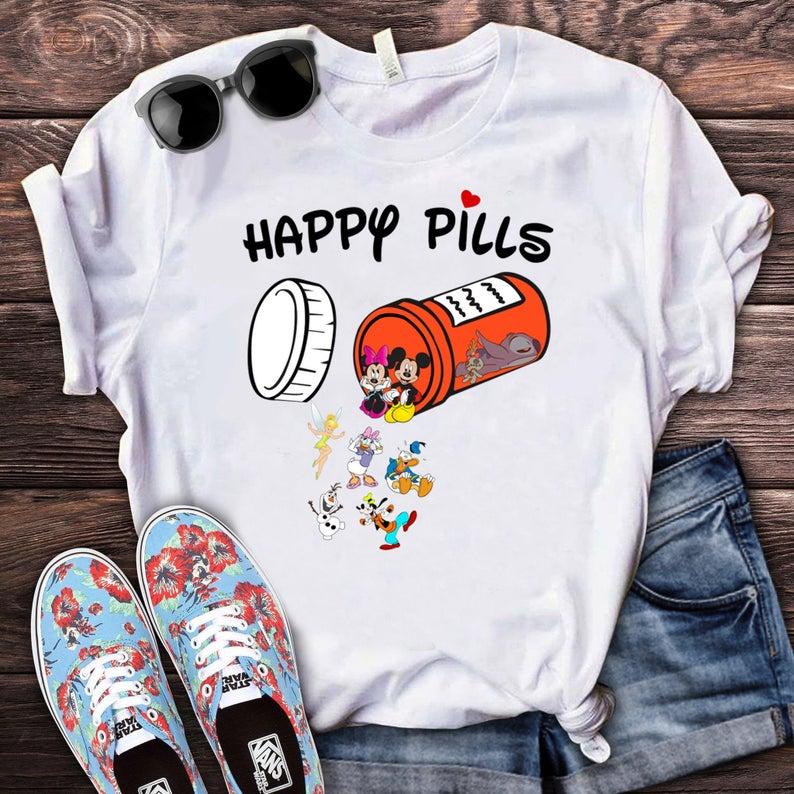 Happy Pills Disney Shirt