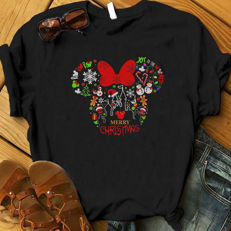 Mickey Head Christmas Shirt