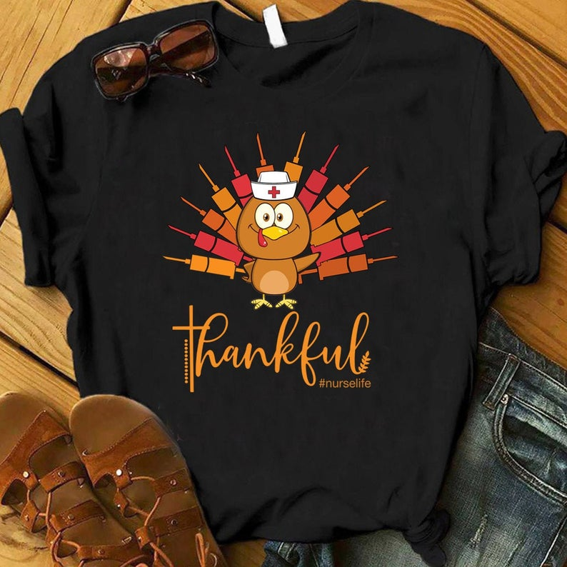 Nurse Thankful Shirt